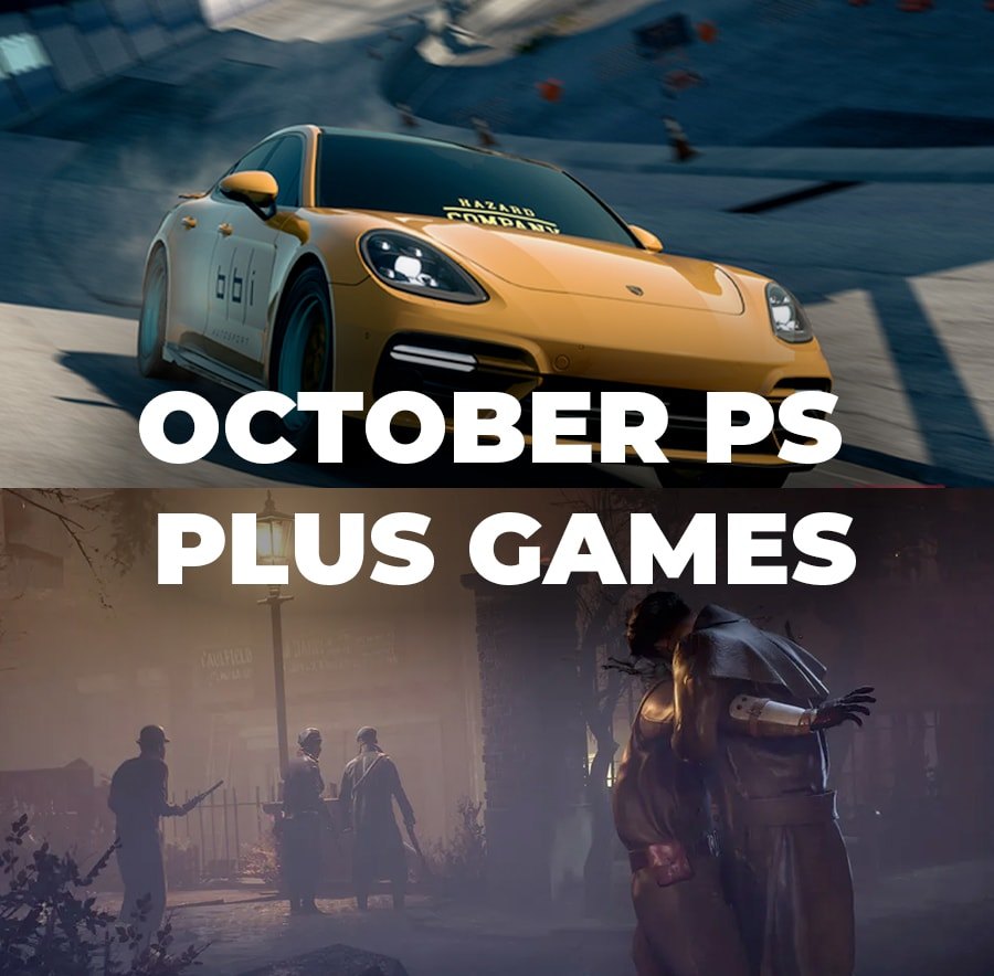 PS Plus October Games