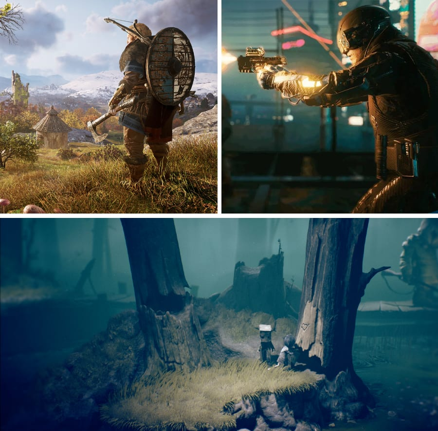 PS4 Games with PS5 upgrades