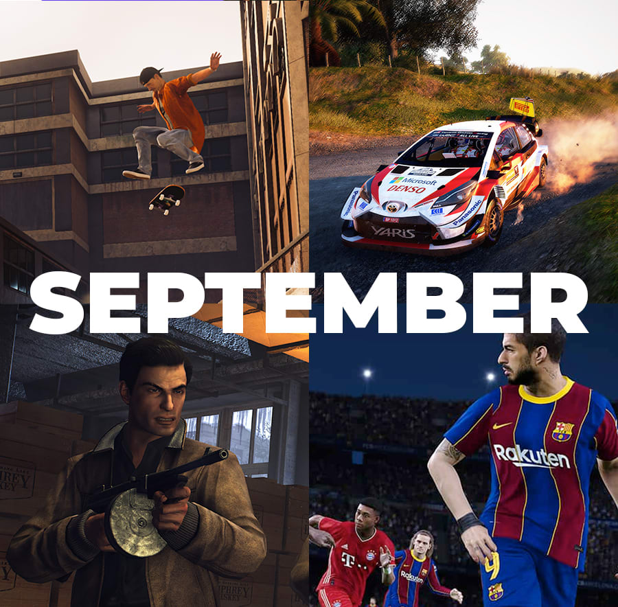 Games to play in September 2020