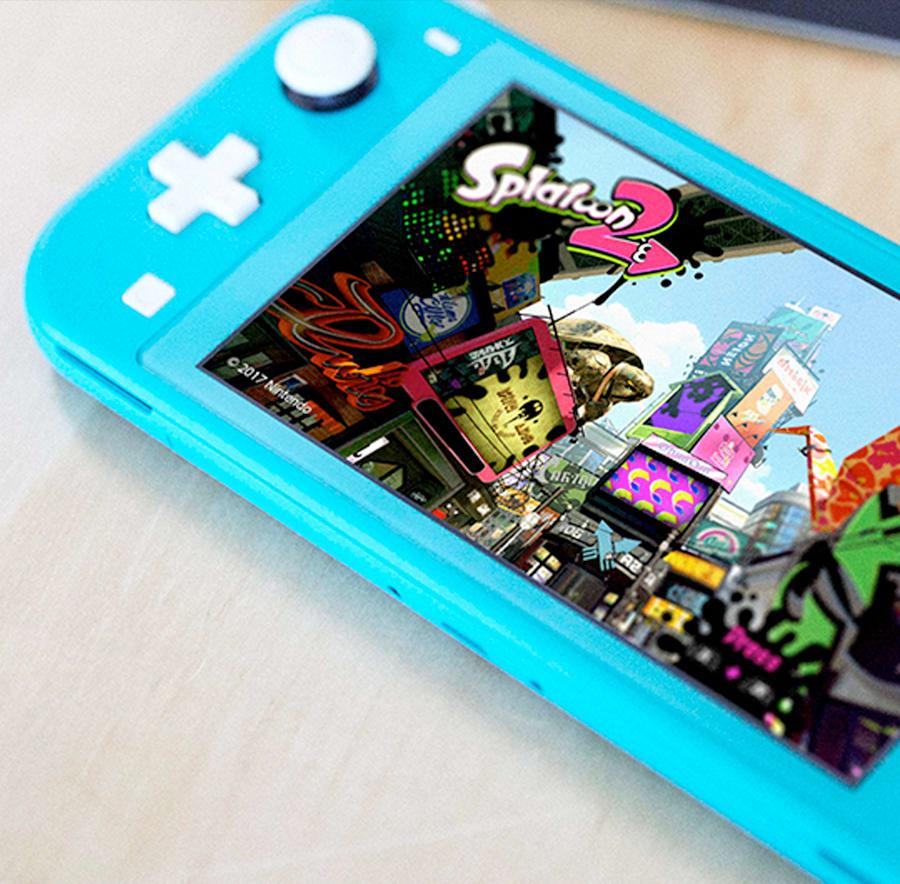 Splatoon on Nintendo Switch Lite