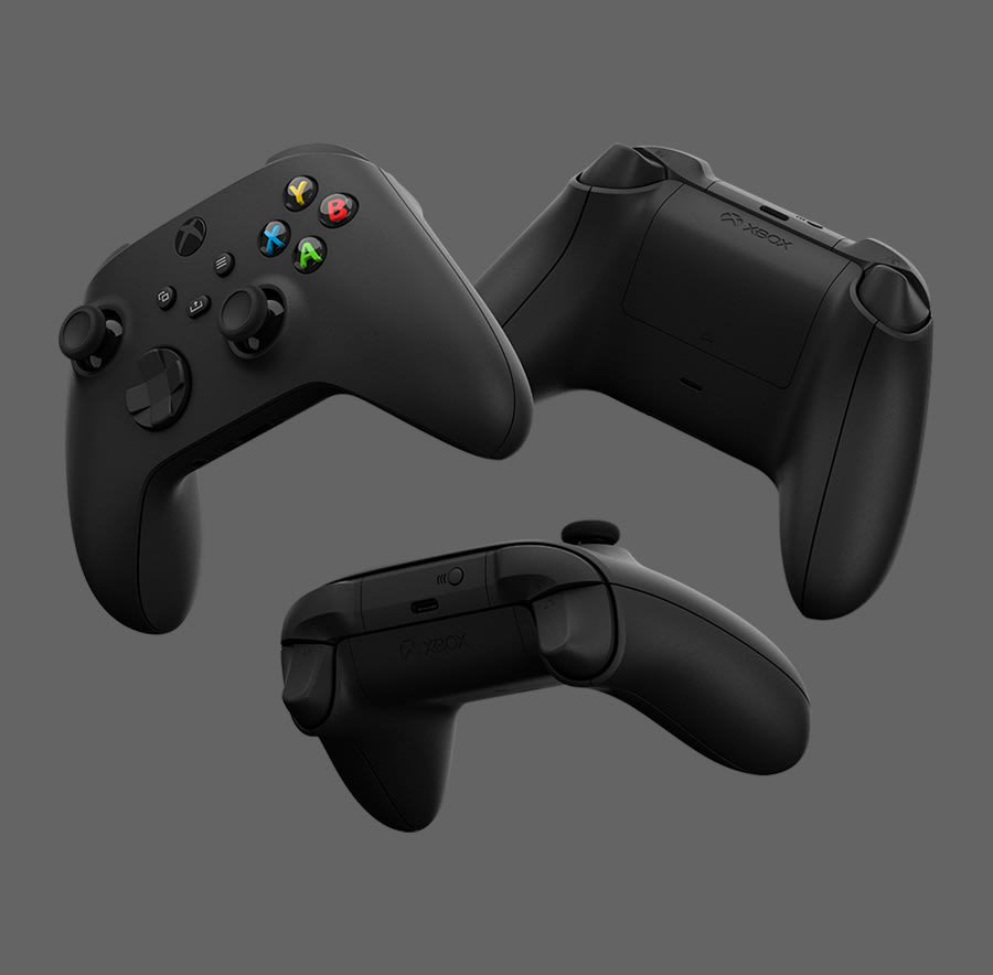 New Black Xbox Wireless Controller