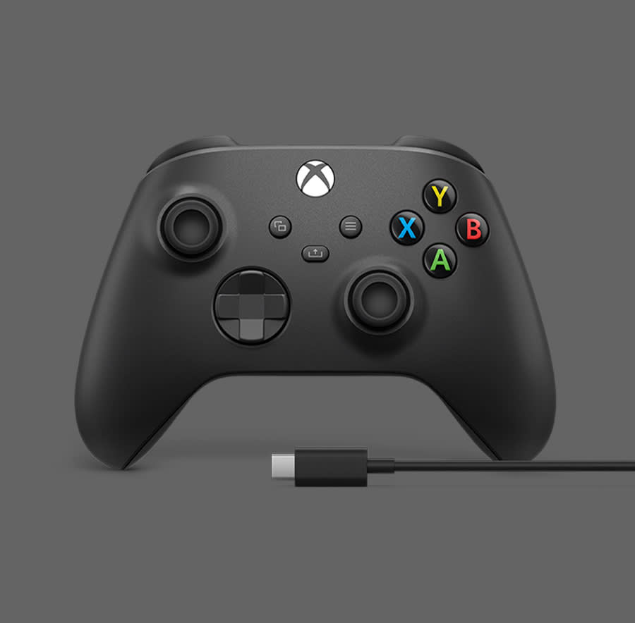New Design of the Black Xbox Wireless Controller