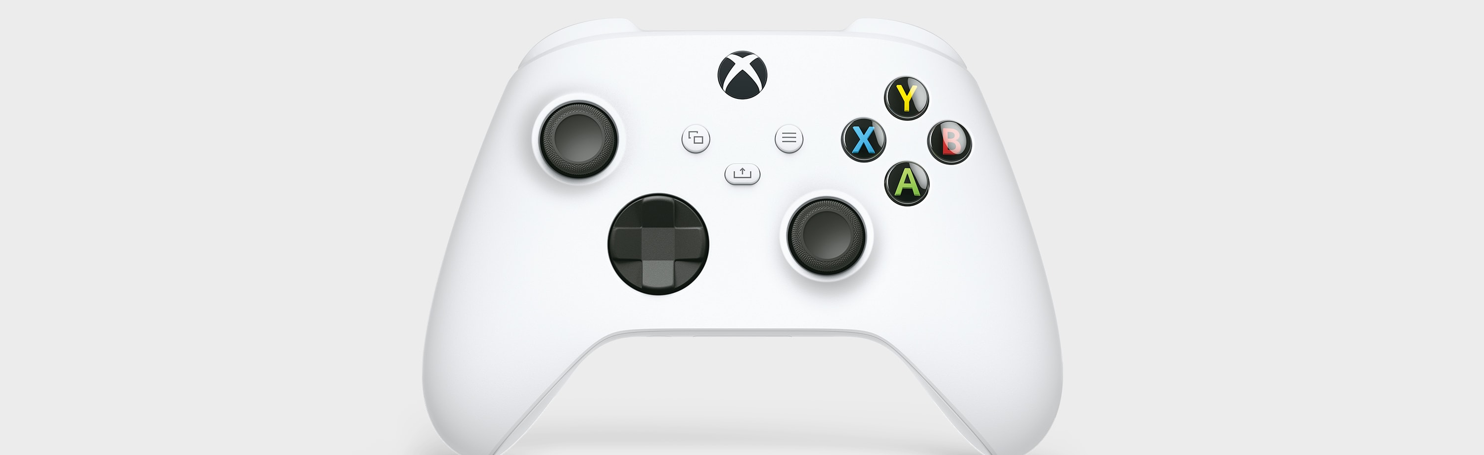 New Design of the Robot White Xbox Wireless Controller