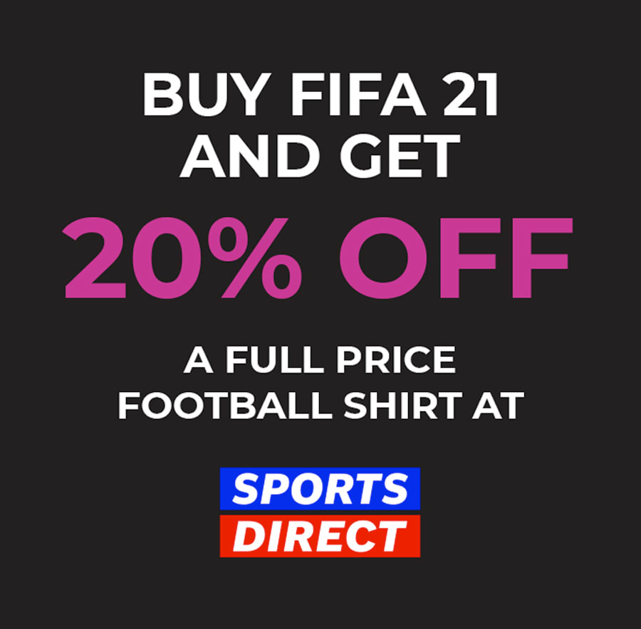 FIFA 21 GAME offer