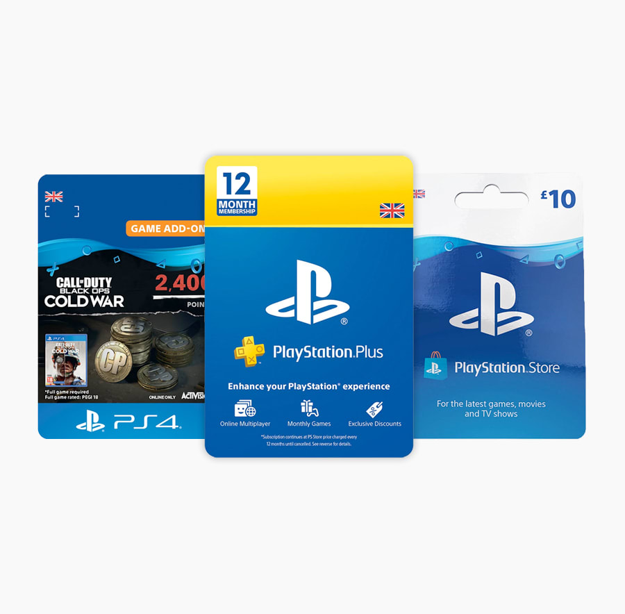 PlayStation and Xbox Digital Credit including PS Plus and Xbox Game Pass
