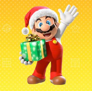 Festive Mario