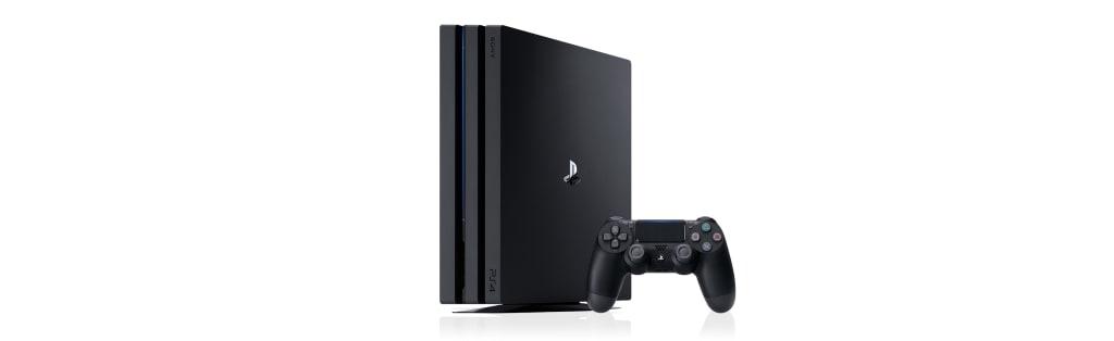 Black Playstation 4 pro
