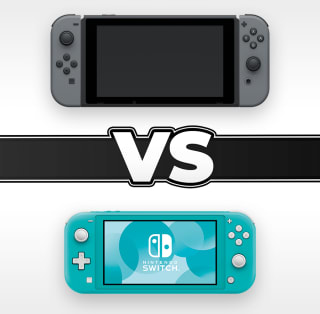 Nintendo Switch and Nintendo Switch Lite