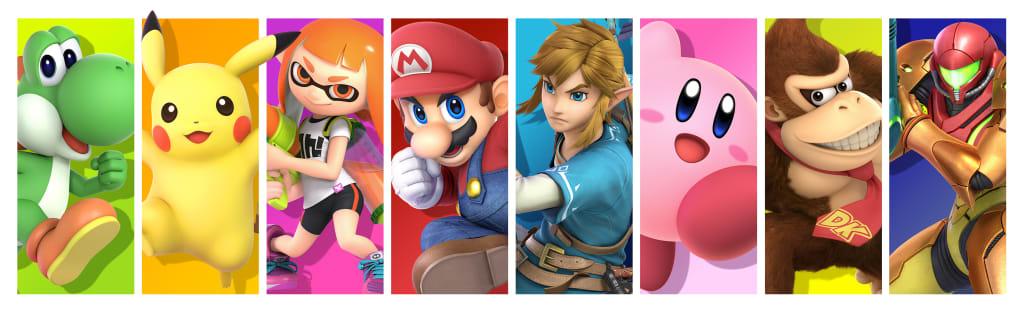 Legendary Nintendo characters