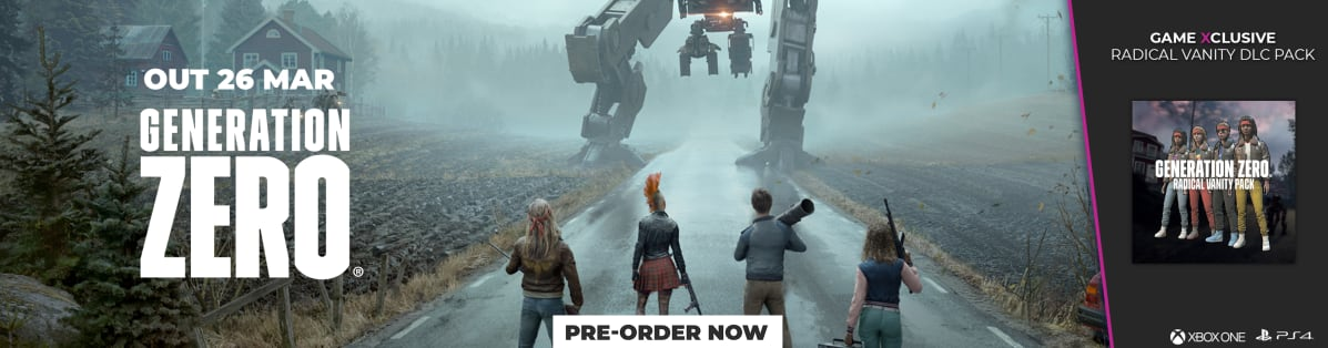 Generation Zero - GAME Exclusive Radical Vanity DLC Pack