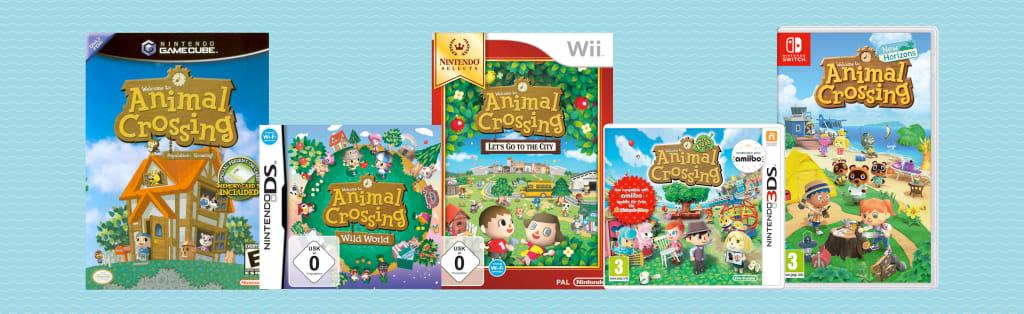Animal Crossing Games