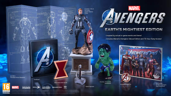 Marvel's Avengers Mightiest Edition