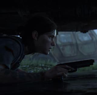 Ellie crying