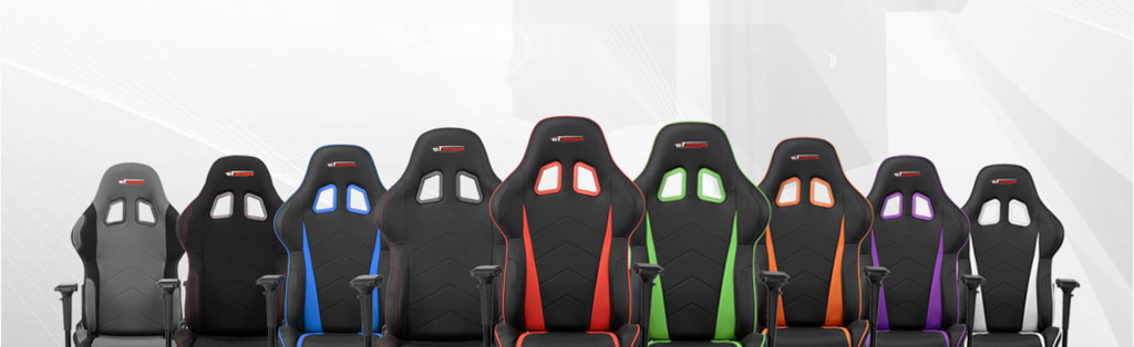 Range of gaming chairs