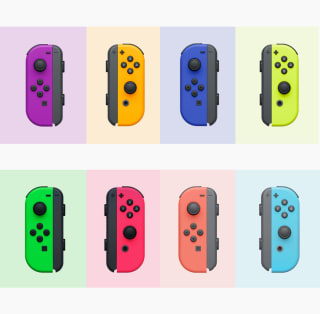 Coloured Neon Joy-Cons