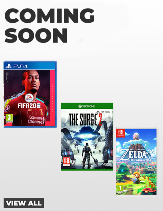 Games Coming Soon