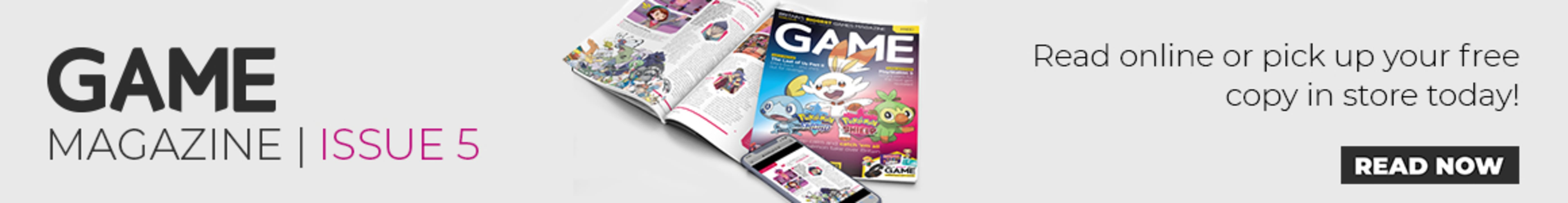 The GAME Magazine - Read it now