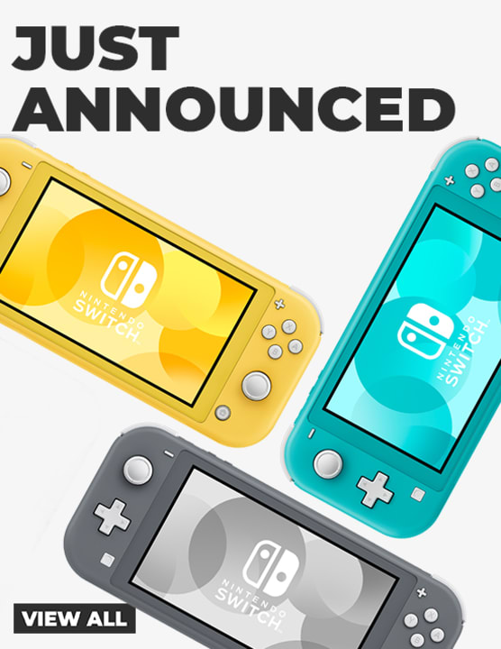 Just Announced - Nintendo Switch Lite
