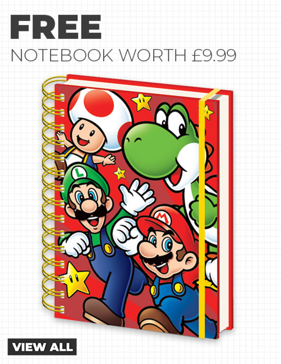 Free Super Mario Notebook