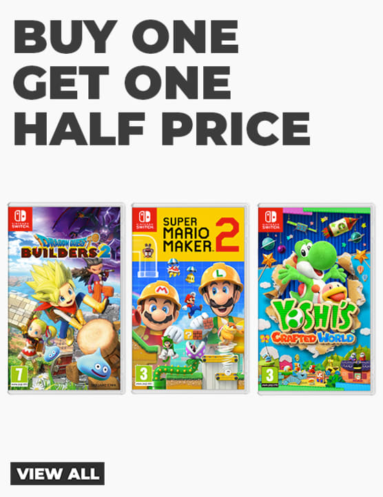 Nintendo Buy One Get One Half-Price