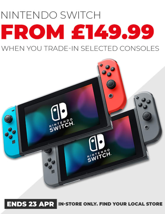 When You Trade In Nintendo Switch Deal