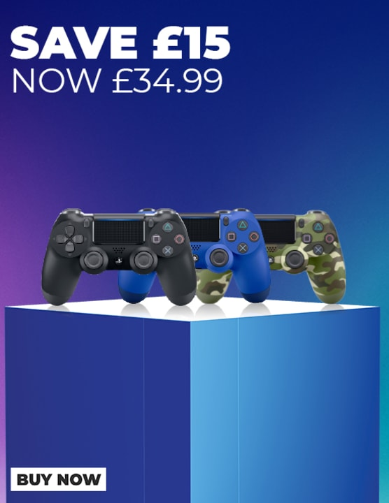 Days of Play - Dualshocks now only £34.99