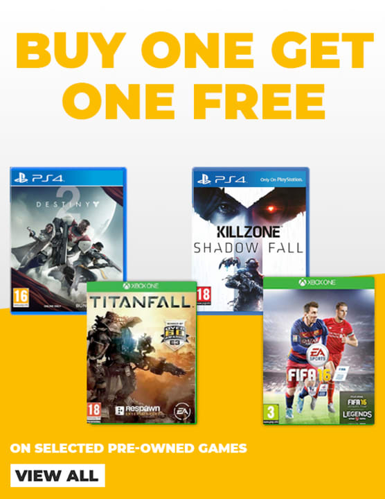 Buy One Get One Free on Pre-Owned
