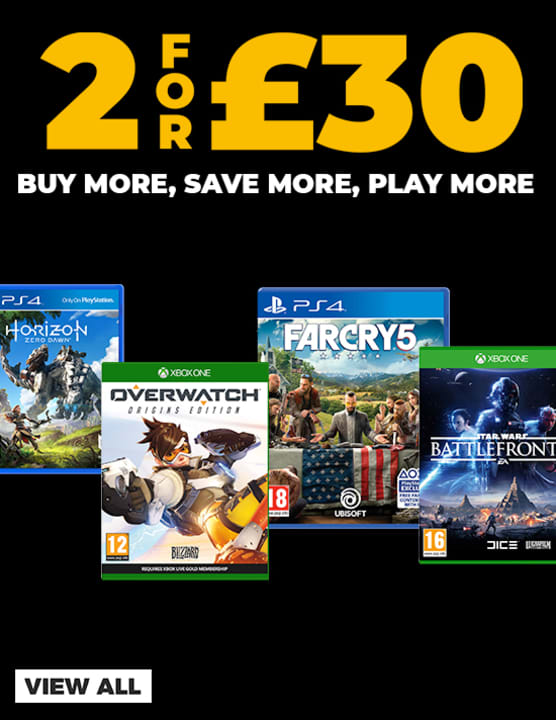 2 for £30 on Pre-Owned