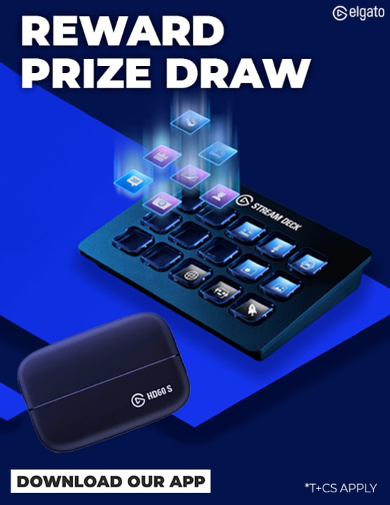 Reward App - Elgato Prize Draw
