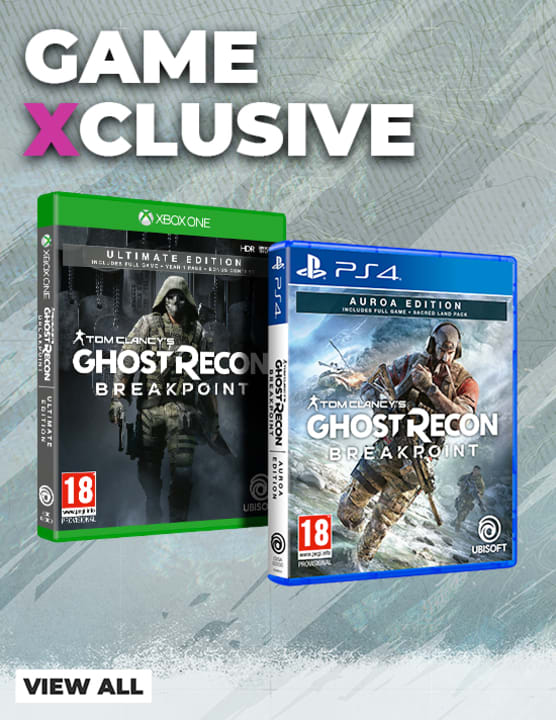 Game Exclusives - Ghost Recon Breakpoint