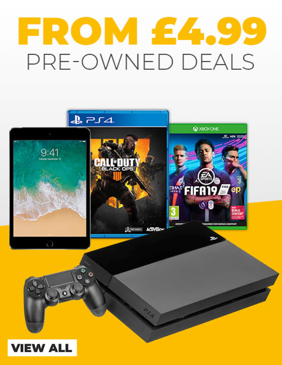 Pre-Owned Deals from £4.99